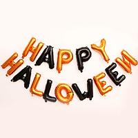 Bong bóng bộ chữ Happy Halloween trang trí
