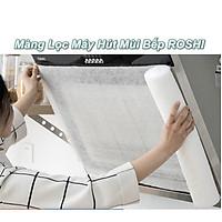 Cuộn Màng Lọc Máy Hút Mùi Nhà Bếp ROSHI 46cm x 10M