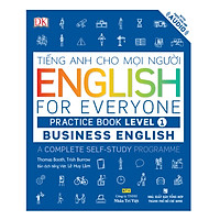 English For Everyone - Business English - Practice Book Level 1 (Kèm 1 Đĩa CD - Room)