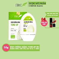 Kem chống nắng dưỡng da IRC TONE-UP cho da dầu mụn nhạy cảm đi biển chống thấm nước cho da mặt và body 12 tiếng 50g