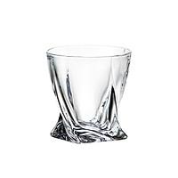 Bộ 6 Cốc Rượu Quadro Crystalite Bohemia 340ml Trơn