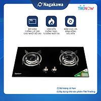 Bếp Gas Âm Đôi Mặt kính Nagakawa NAG1751 - Hàng Chính Hãng