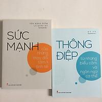 Thông Điệp Từ Những Biểu Cảm Và Ngôn Ngữ Cơ Thể + Sức Mạnh Của Những Thay Đổi Tâm Lý Tinh Tế (kèm bookmark)