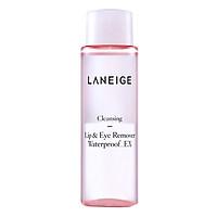 Nước Tẩy Trang Cho Vùng Da Mắt Và Môi Bản Miniature Laneige Lip & Eye Remover Waterproof (50ml)