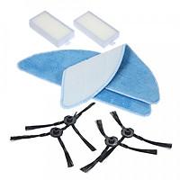 Bộ Bàn Chải, Vải Lau Và Bộ Lọc Thay Thế Cho Máy Hút Bụi ILIFE V5S V3S V3 V5 Pro Robotic (8 Món)