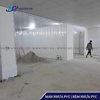 Rèm Nhựa PVC Ngăn Lạnh, Màn Cửa Bằng Nhựa Cho Các Cửa Có Chiều Cao 1,5m