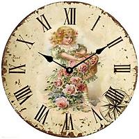 Đồng hồ treo tường phong cách cổ MS 54