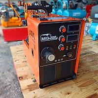 Máy hàn mig AWA 200 chính hãng dùng cuộn dây hàn 15kg chuyên dùng khí - công nghệ hiện đại