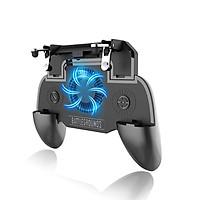 Tay cầm chơi game SR Mobile có quạt tản nhiệt kiêm Pin sạc dự phòng dung lượng 2000mAh - Tặng Vòng tay RUBY
