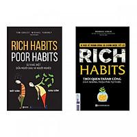 """Bộ Sách Bí Mật Của Sự Thành Công ( """"Rich Habits - Thói Quen Thành Công Của Những Triệu Phú Tự Thân"""" + """"Rich Habits - Poor Habits Sự khác biệt giữa người giàu và người nghèo"""" )(Tặng kèm bút chì Kingbooks)"""