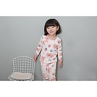 Bộ dài cho bé Olomimi Hàn Quốc Pig Pig FW20 - 100% cotton