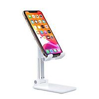 Giá đỡ điện thoại, ipad đế vững chắc có lót chống trượt, gấp siêu gọn, điều chỉnh  được góc nhìn và tăng giảm chiều cao - Hàng chính hãng