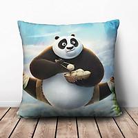Gối Ôm Vuông Kungfu Panda 3 GVFF038 (36 x 36 cm)
