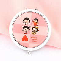 Gương gập tròn Chibi MaruKo Chan
