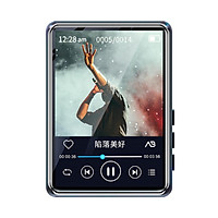 mahdi M20 Portable Multimedia Player BT MP3 Music Player 2.5-inch Touch Screen with Speaker Lossless Sound Video Player with FM Radio E-book Voice Recorder Support up to 128GB