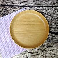 Khay tròn gỗ beech
