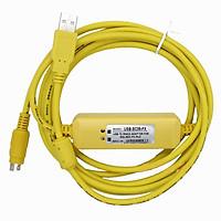 Cáp lập trình dùng cho Mitsubishi PLC USB-SC09-FX USB to RS422 Adapter for MELSEC FX PLC - Hàng Chính Hãng