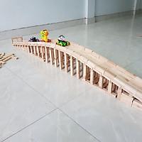 Bộ đồ chơi rút gỗ 55 thanh thông minh cho bé, đồ chơi trẻ em trí tuệ và sáng tạo