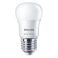 Bóng Đèn Philips LED Scene Switch 2 Cấp Độ Chiếu Sáng 6500K Đuôi E27 P45 929001209007 (6.5W)