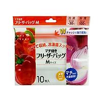 Túi Zip Đựng Thực Phẩm SHINWA size M 10 cái