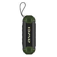 Loa Bluetooth Kiêm Sạc Dự Phòng Awei Y280 (Xanh – Đen) - Hàng Chính Hãng