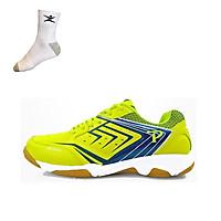 Giày cầu lông Promax PR19002 cao cấp, dành cho nam và nữ - Tặng kèm tất thể thao Bendu chính hãng