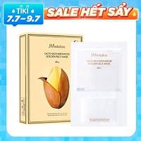 [ 10 miếng ] Mặt nạ làm trắng , chống lão hóa JMsolution Lacto Saccharomyces Golden Rice Mask 30ml