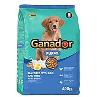 Thức ăn cho chó con Ganador vị Trứng và Sữa - Egg and Milk 400 gr