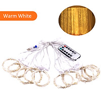 D C 5 V 5 W 300 L-EDs Fairy Curtain Light S-tring Light with Remote Control Controller USB Powered Operated Combination/