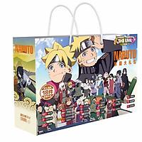 Hộp quà hình chữ nhật Boruto: Naruto Next Generations thiết kế độc đáo tặng ảnh Vcone