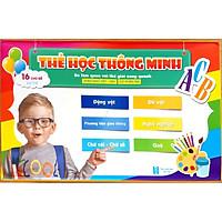 Bộ Thẻ Học Thông Minh (Flash card) 16 Chủ Đề (416 Thẻ) - Kích thích phát triển não bộ cho trẻ