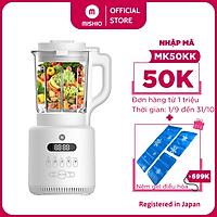Máy xay công suất lớn nấu cháo làm Sữa hạt đa năng Mishio MK270 800W - hàng chính hãng