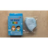 Combo 2 Hộp khẩu trang trẻ em 5D Mask Kids Nam Anh hộp 10 cái Màu trắng, hồng, xanh