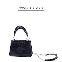 Túi xách nữ/ 1992 s t u d i o/ MELA BAG/ màu đen trắng