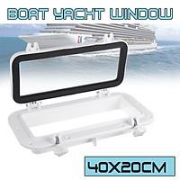 40x20cm Portlight Window Port Hole Replacement Boat Marine Yacht Part 4mm