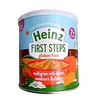Bột ăn dặm ngũ cốc, cà rốt, phô mai và bắp ngọt Heinz (240gr)
