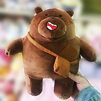 Gấu bông we bare bears đeo cặp (30 cm) gb57