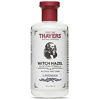 Nước Hoa Hồng Không Cồn Thayers Witch Hazel Lavender (Oải Hương) 355ml (Dành cho da dầu, da có mụn)
