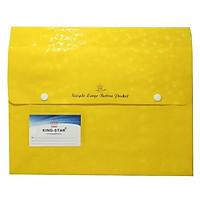 Bìa Túi Nút 5Cm King-Star KS-404 - Màu Vàng