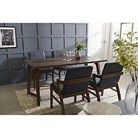 Bộ bàn 4 ghế Hàn Quốc LENUS LE4C-B