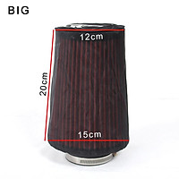 Universal Air Filter Dustproof Oil-proof Protective Cover for High-flow Air Inlet Filters