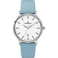 Đồng hồ Dugena nữ Festa Femme 4460787 dây xanh dương nhạt