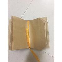 com bo 100 túi giấy xi măng loại túi nửa kt 12x16
