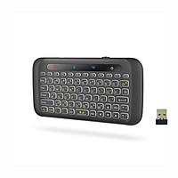 Bàn phím không dây mini có trackpad cho SmartTV, TVbox, Android OS, Laptop, Máy tính H20 Mai Lee - Hàng chính hãng