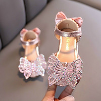Giày công chúa đính đá lấp lánh cho bé gái hàng Quảng Châu cao cấp