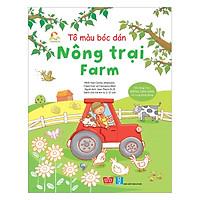 Tô Màu Bóc Dán - Nông Trại - Farm
