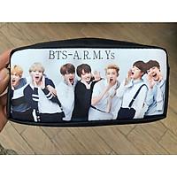 Bóp viết hộp bút in hình nhóm nhạc BTS đa năng