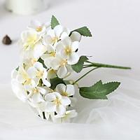 Nhánh hoa tú cầu giả nhiều màu (không kèm bình)
