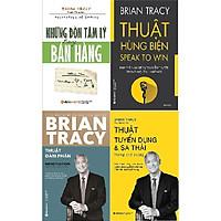 Combo Brian Tracy - Thuật Đàm Phán + Những Đòn Tâm Lý Trong Bán Hàng + Thuật Hùng Biện +Thuật Tuyển Dụng Và Sa Thải
