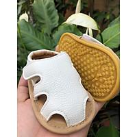 Giày Sandal Cá Sấu Trắng G004